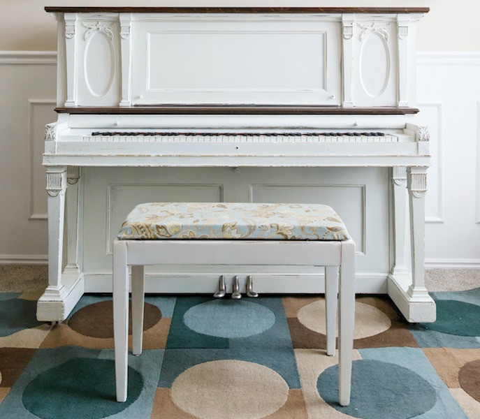 Best ideas about DIY Piano Bench . Save or Pin How to Reupholster a Piano Bench U Create Now.