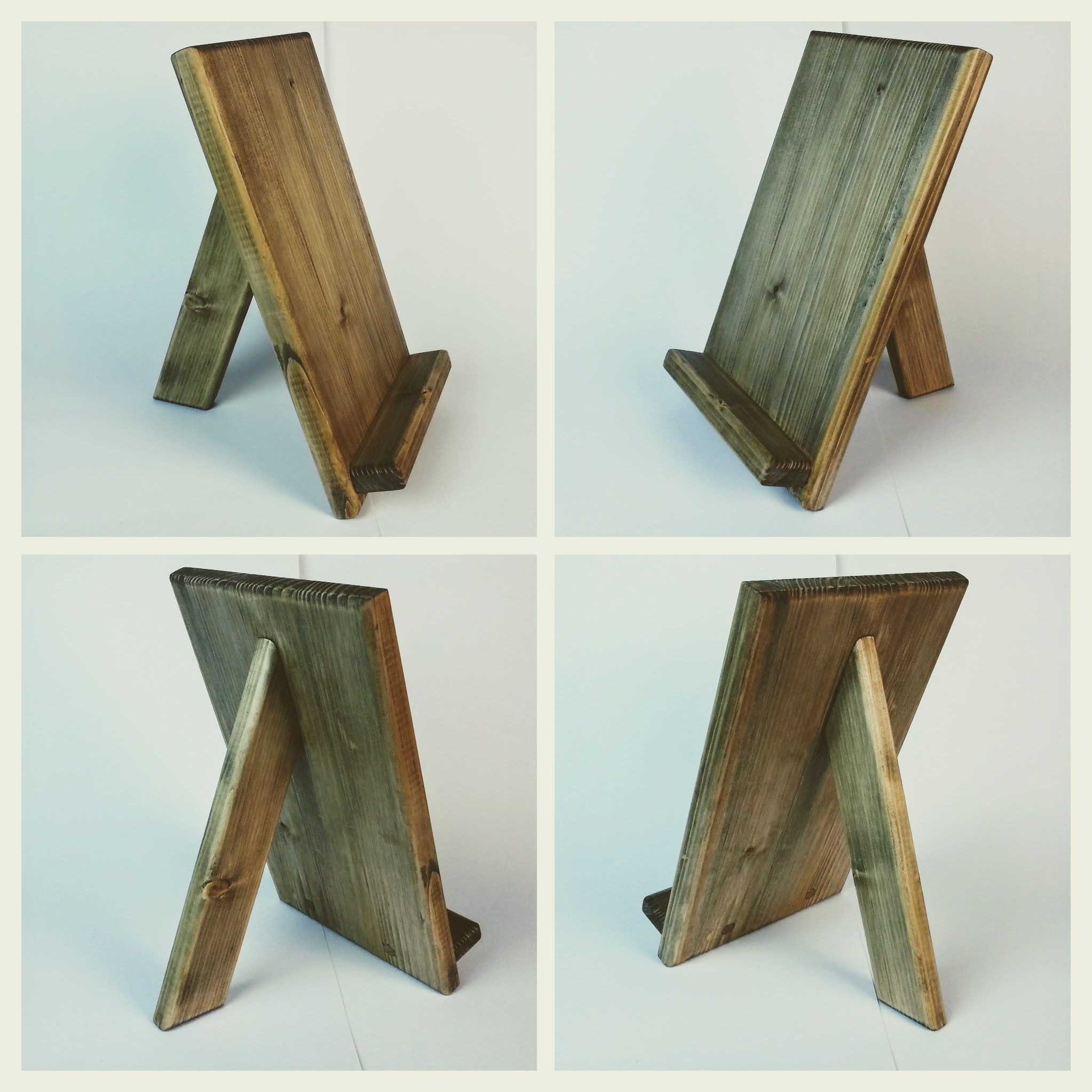 Best ideas about DIY Picture Stand . Save or Pin Wooden tablet holder iPad stand Woodworking Now.