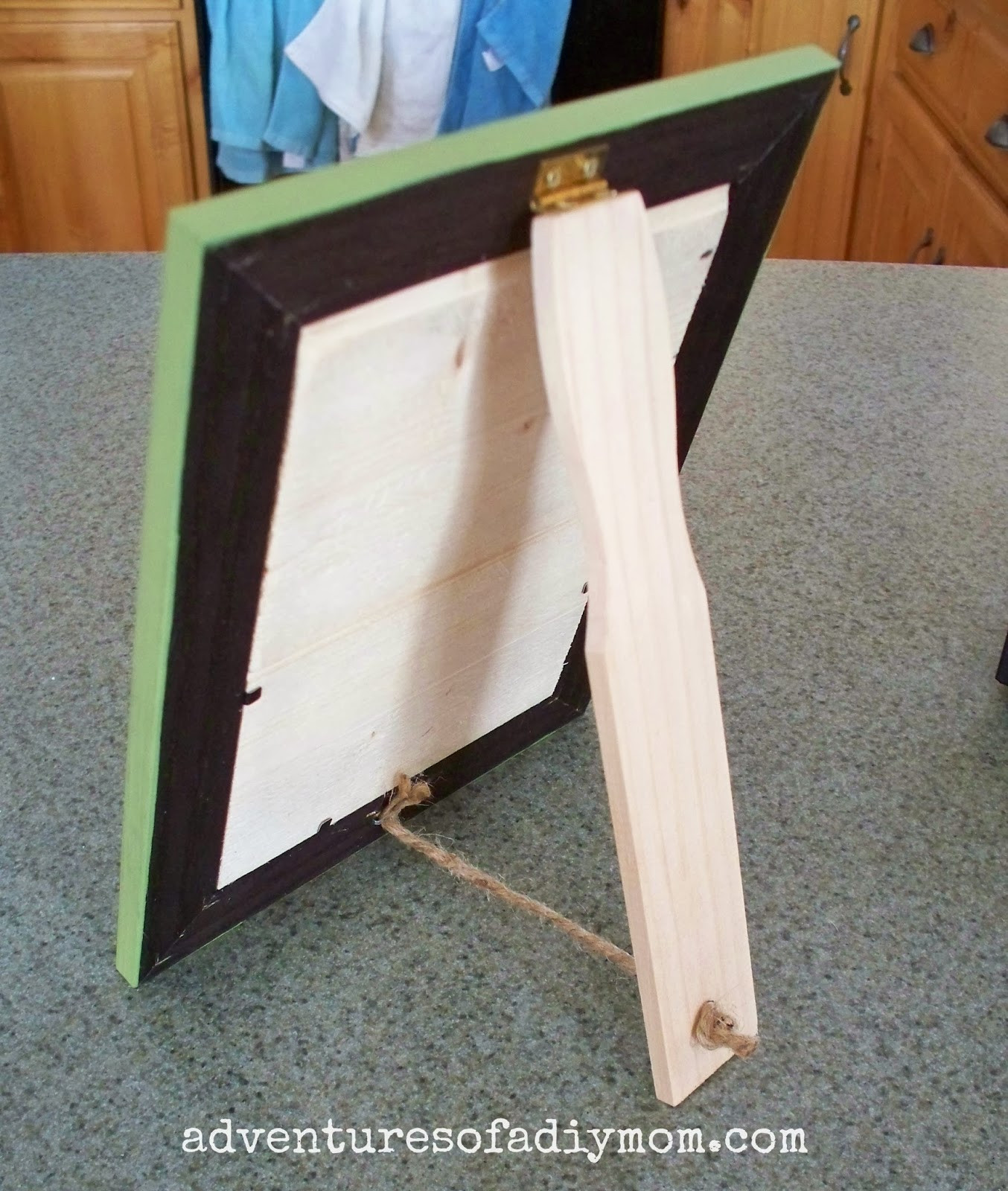 Best ideas about DIY Picture Stand . Save or Pin How to Make a Beadboard Picture Frame Adventures of a Now.