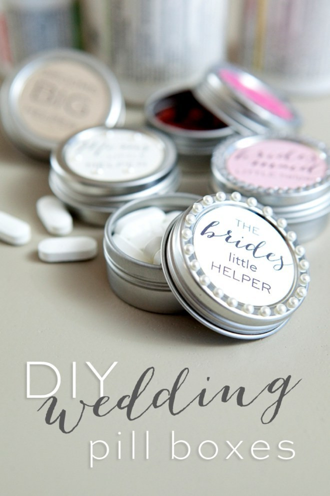 Best ideas about DIY Pill Box . Save or Pin Make your own darling wedding pill box Now.