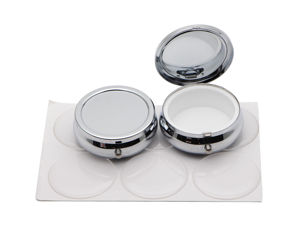 Best ideas about DIY Pill Box . Save or Pin Metal Pill boxes DIY Medicine Organizer container silver 1 Now.