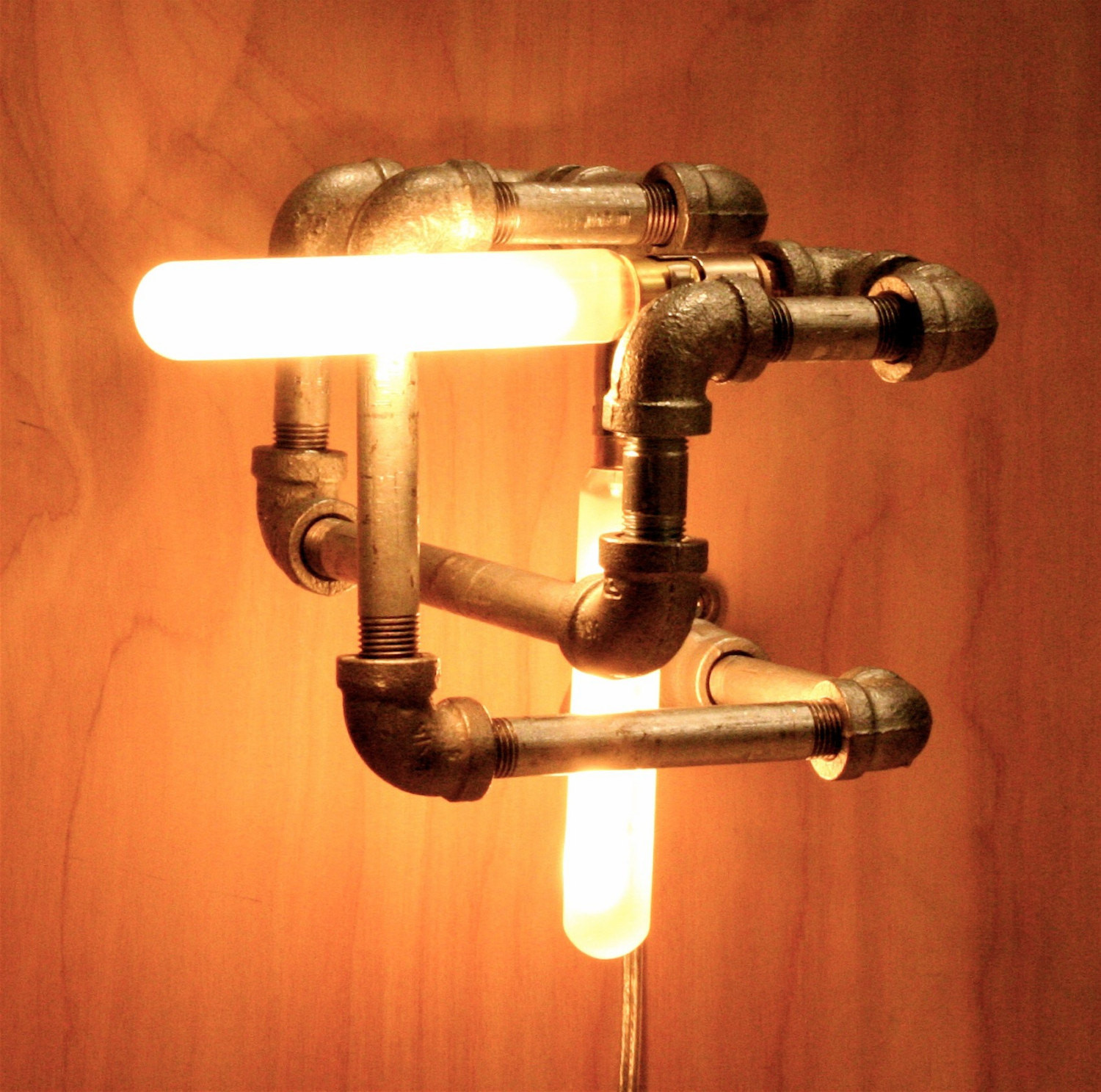 Best ideas about DIY Pipe Light Fixture . Save or Pin LET S STAY Cool Pipe Lighting Design Now.