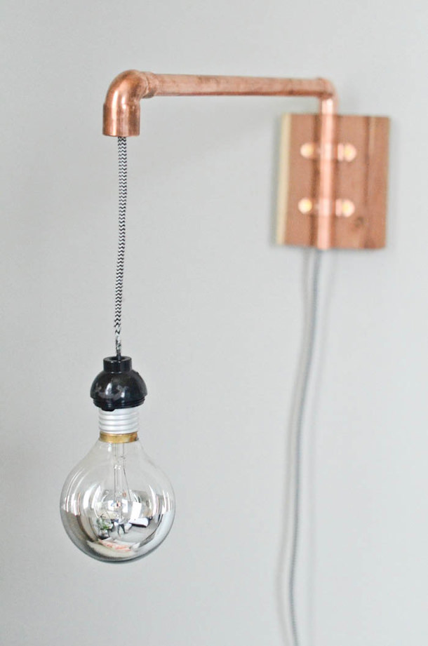 Best ideas about DIY Pipe Lights . Save or Pin DIY Sconce Lights Now.