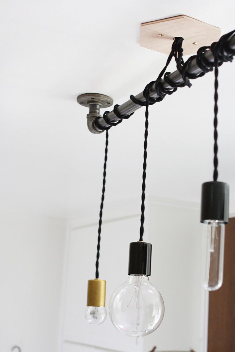 Best ideas about DIY Pipe Lights . Save or Pin 25 Wonderful Things You Can Make With Pipe Now.