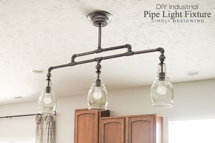 Best ideas about DIY Pipe Lights . Save or Pin DIY Industrial Pipe Light Fixture Now.