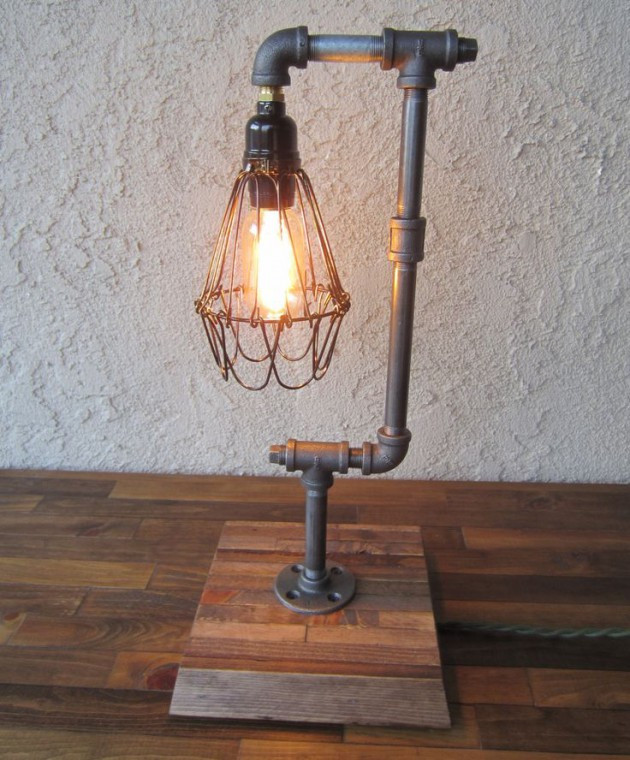 Best ideas about DIY Pipe Lights . Save or Pin 16 Sculptural Industrial DIY Pipe Lamp Design Ideas Able Now.