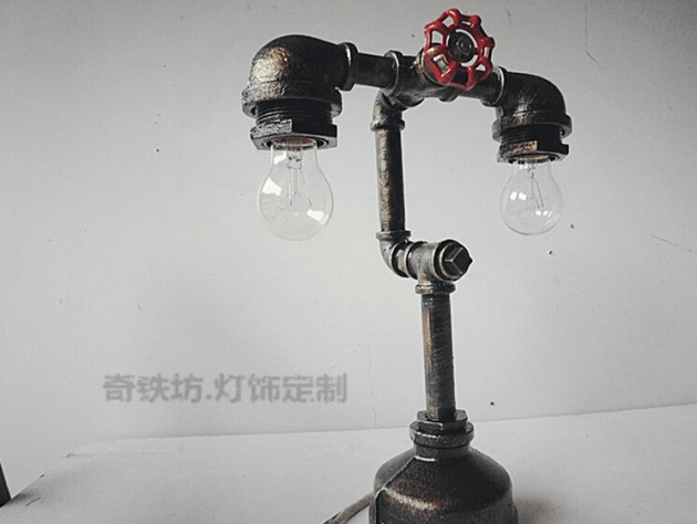 Best ideas about DIY Pipe Lights . Save or Pin 16 Functional DIY Pipe Lamp Design Ideas Now.