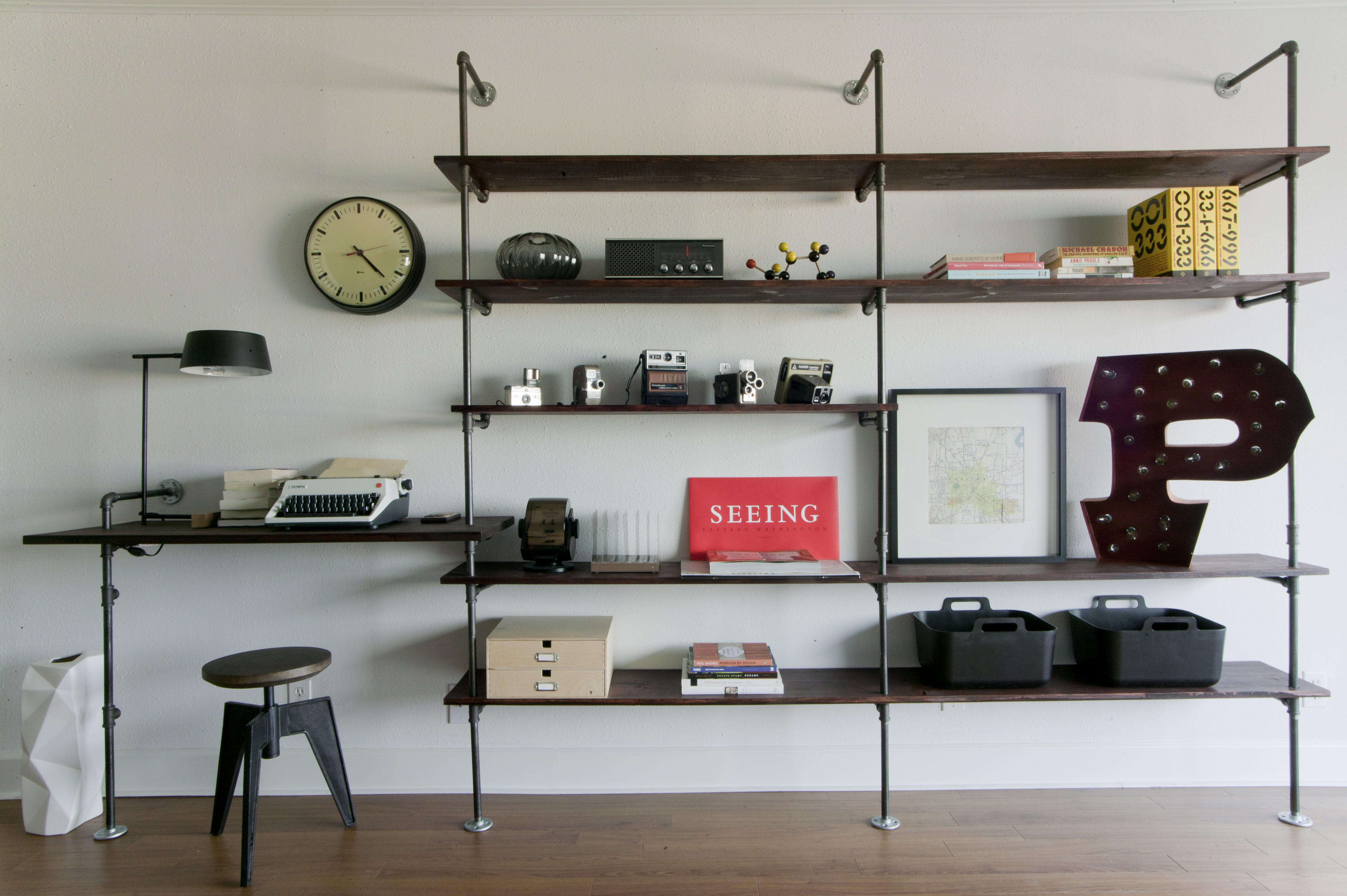 Best ideas about DIY Pipe Shelves . Save or Pin pipe shelves Now.