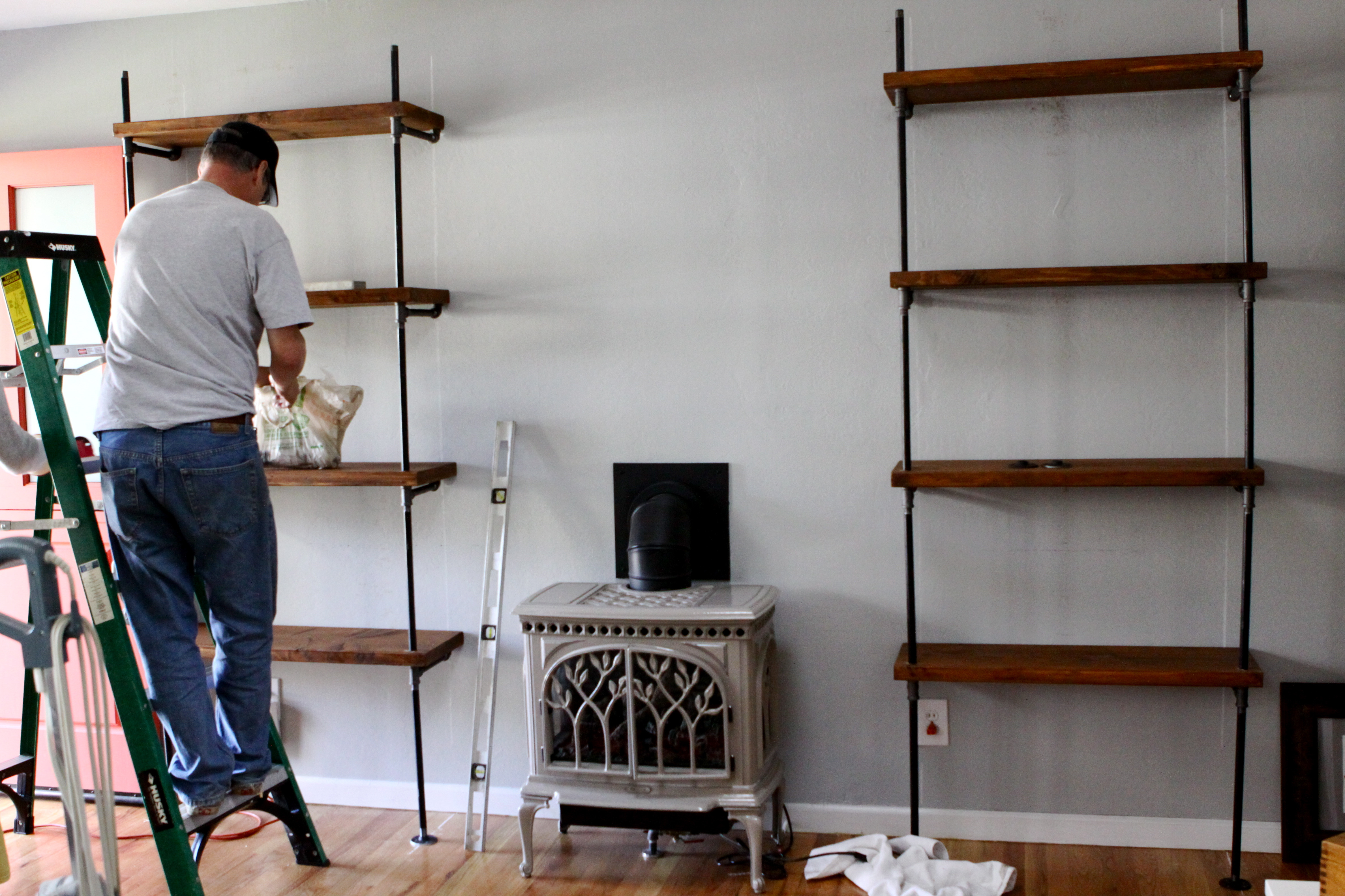 Best ideas about DIY Pipe Shelves . Save or Pin DIY Rad Bookshelves Holla Now.