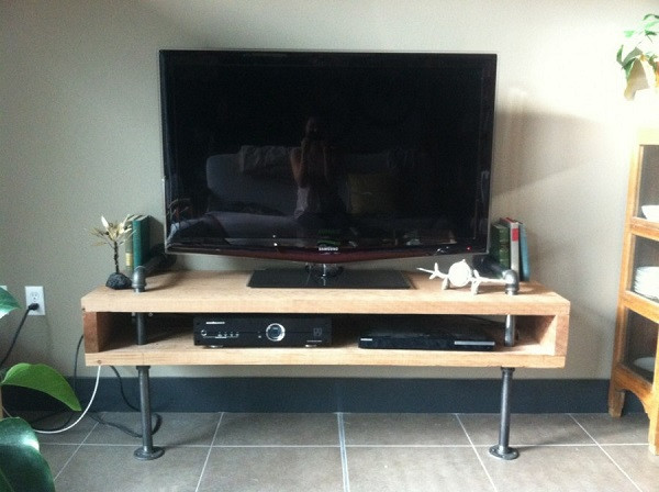 Best ideas about DIY Pipe Tv Stand . Save or Pin DIY TV Stand 30 Ideas You Can Totally Build at Home Now.