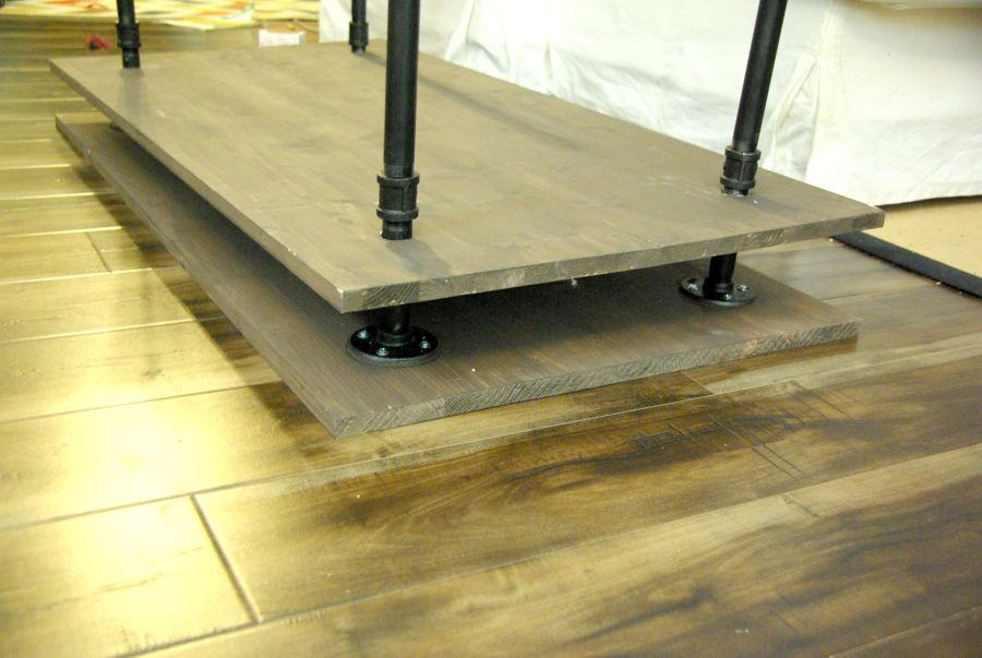 Best ideas about DIY Pipe Tv Stand . Save or Pin DIY TV Stand A Blend Industrial Rustic And Modern Now.