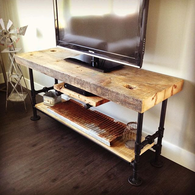 Best ideas about DIY Pipe Tv Stand . Save or Pin Best 25 Industrial tv stand ideas on Pinterest Now.