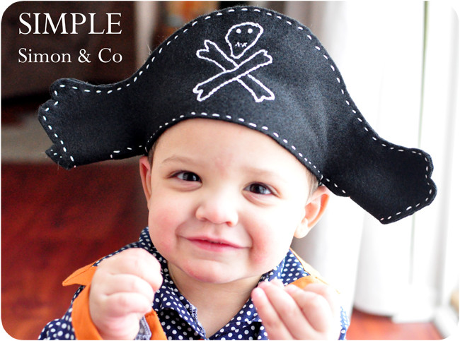 Best ideas about DIY Pirate Hat . Save or Pin A Felt Pirate Hat Pattern Simple Simon and pany Now.