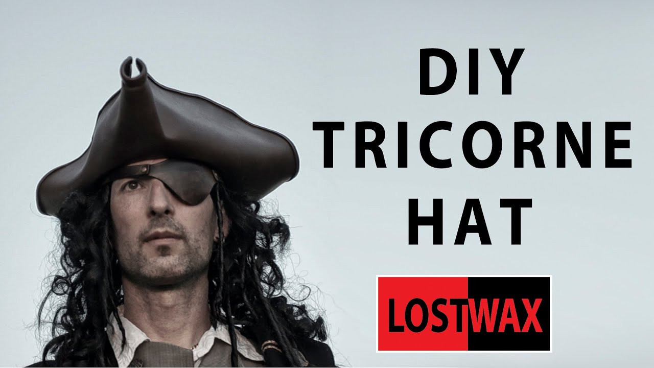 Best ideas about DIY Pirate Hat . Save or Pin How to make a tricorn pirate hat from foam DIY Jack Now.
