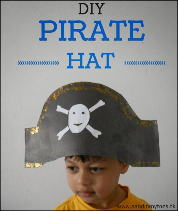 Best ideas about DIY Pirate Hat . Save or Pin Busy Hands DIY Pirate Hat Now.
