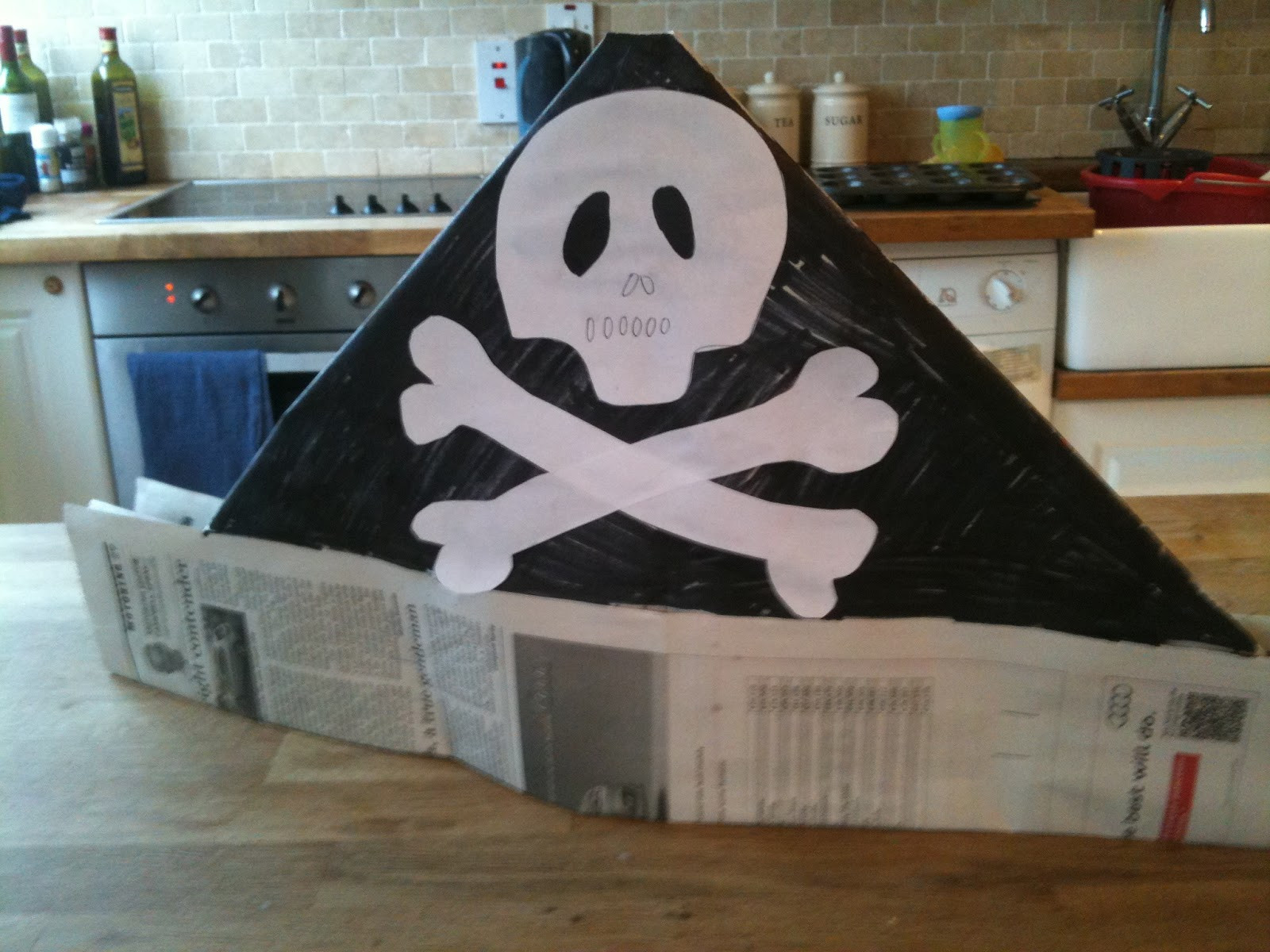 Best ideas about DIY Pirate Hat . Save or Pin How to Make a DIY Pirate Hat Now.