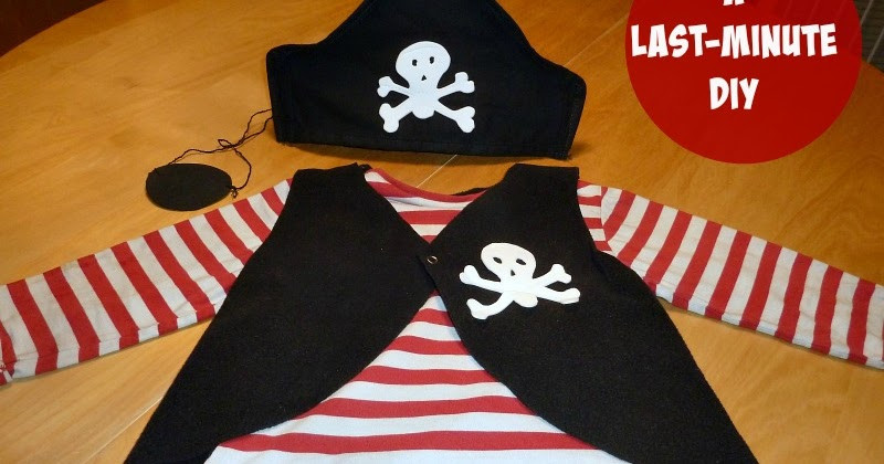 Best ideas about DIY Pirate Hat . Save or Pin How to make a PIRATE costume for kids last minute DIY Now.