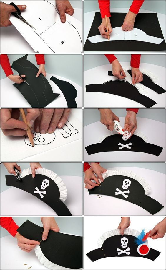 Best ideas about DIY Pirate Hat . Save or Pin 25 Pirate Costumes and DIY Ideas 2017 Now.