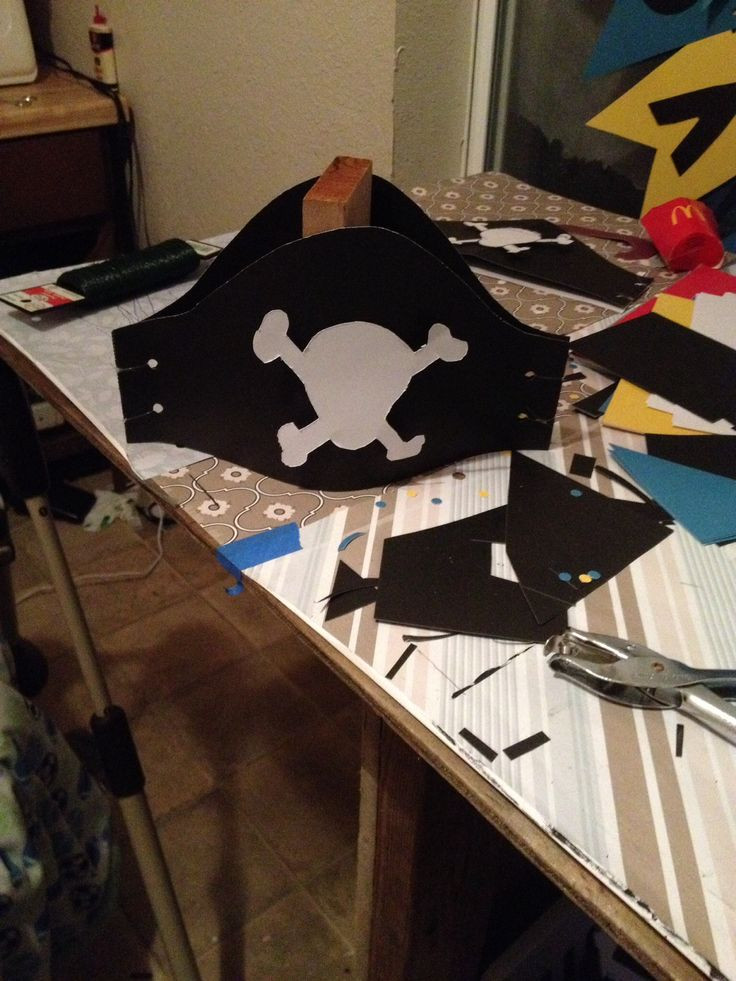 Best ideas about DIY Pirate Hat . Save or Pin DIY paper pirate hats Now.