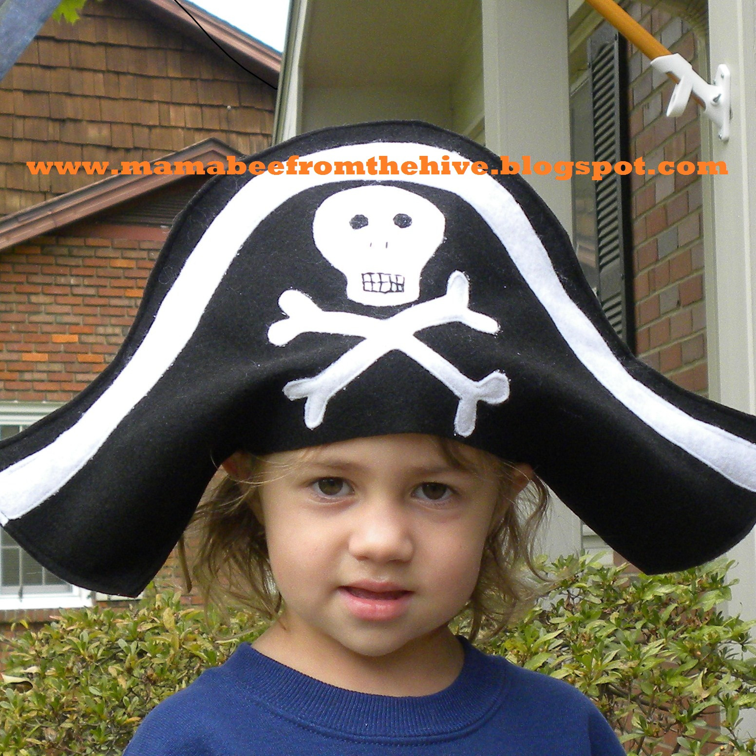 Best ideas about DIY Pirate Hat . Save or Pin From The Hive pirate hat tutorial Now.