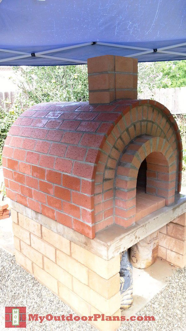Best ideas about DIY Pizza Oven Plans Free . Save or Pin DIY Brick Pizza Oven MyOutdoorPlans Now.