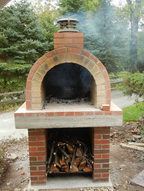 Best ideas about DIY Pizza Oven Plans Free . Save or Pin homemade outdoor pizza oven plans Wood Burning Pizza Now.