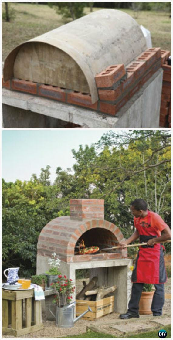 Best ideas about DIY Pizza Oven Plans Free . Save or Pin DIY Outdoor Pizza Oven Ideas & Projects Instructions Now.