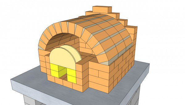 Best ideas about DIY Pizza Oven Plans Free . Save or Pin Outdoor Pizza Oven Plans MyOutdoorPlans Now.