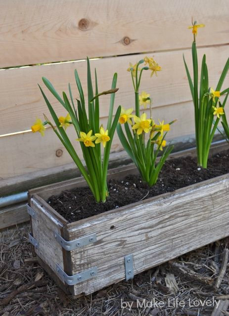 Best ideas about DIY Planter Box . Save or Pin DIY Rustic Wood Planter Box Make Life Lovely Now.