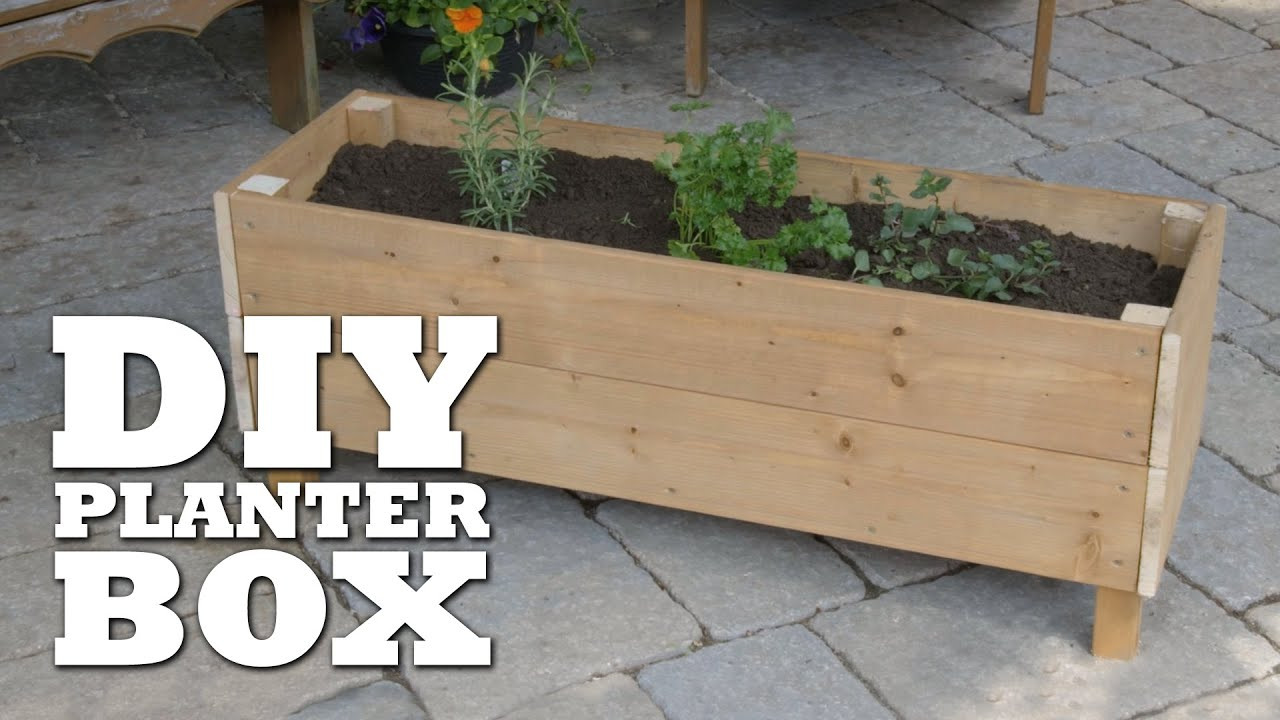 Best ideas about DIY Planter Box . Save or Pin How To Build a Planter Box Now.