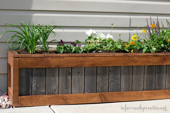 """Best ideas about DIY Planter Box . Save or Pin """"Something Old Something New"""" Planter Box Infarrantly Now."""