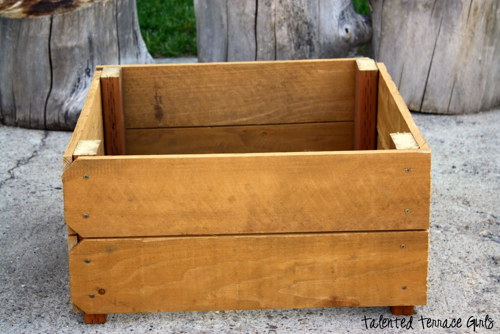 Best ideas about DIY Planter Box . Save or Pin Talented Terrace Girls DIY Thursday Planter Boxes Now.