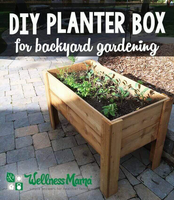 Best ideas about DIY Planter Box . Save or Pin DIY Planter Box Tutorial for Patio or Balcony Now.
