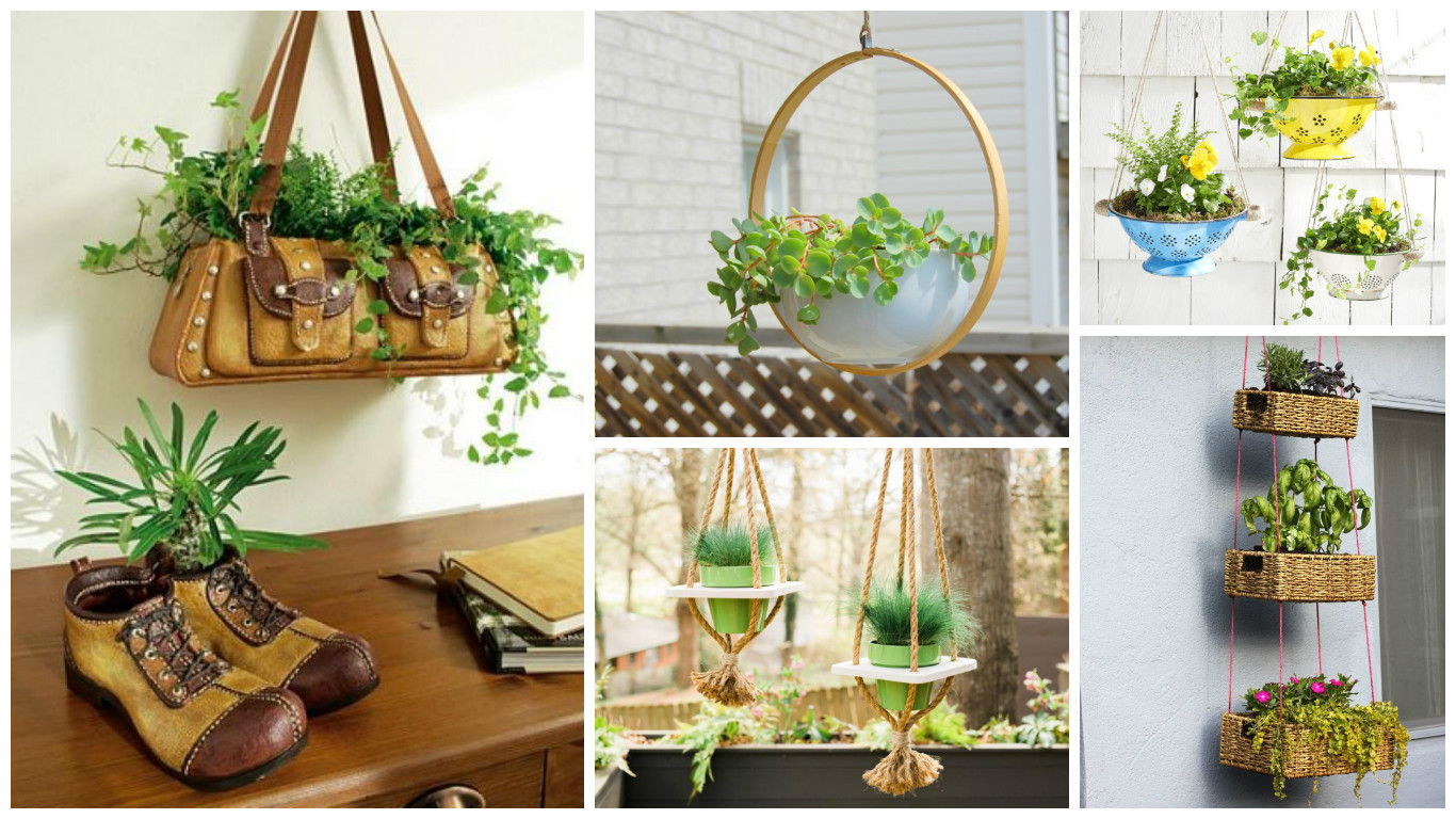 Best ideas about DIY Planter Ideas . Save or Pin 12 Excellent DIY Hanging Planter Ideas For Indoors And Now.