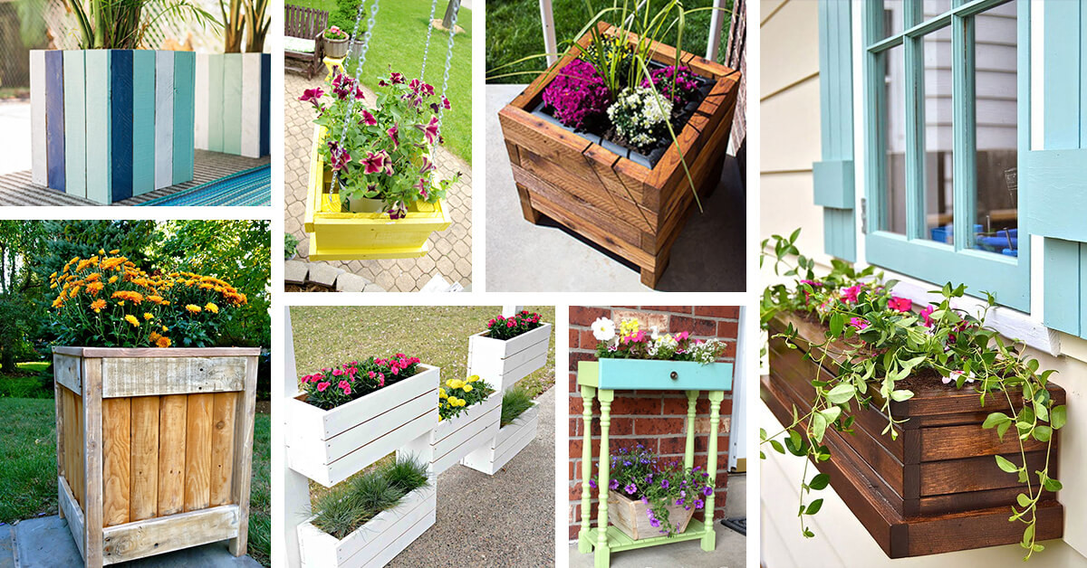 Best ideas about DIY Planter Ideas . Save or Pin 32 Best DIY Pallet and Wood Planter Box Ideas and Designs Now.