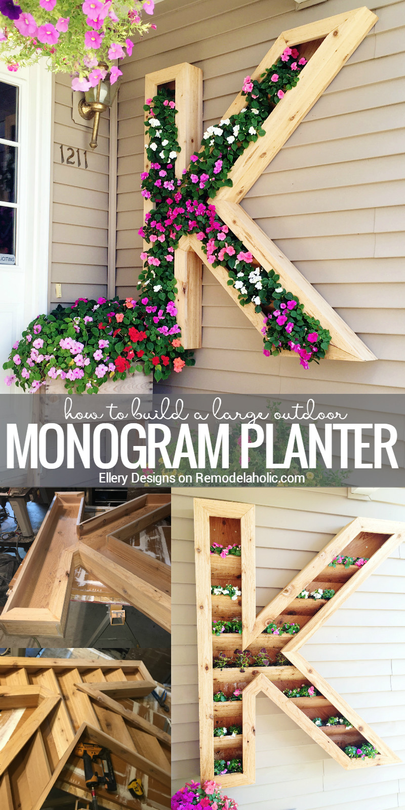 Best ideas about DIY Planter Ideas . Save or Pin Remodelaholic Now.