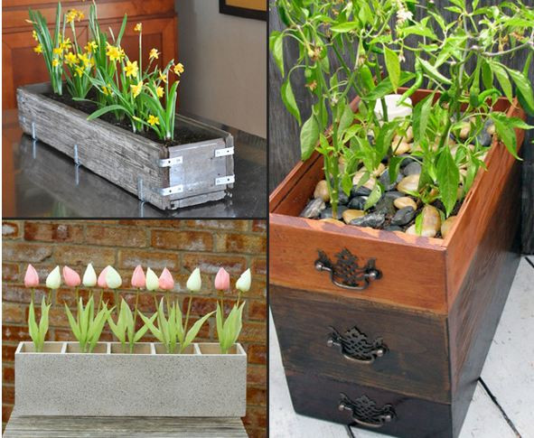 Best ideas about DIY Planter Ideas . Save or Pin 10 Awesome DIY Planter Box Ideas Now.