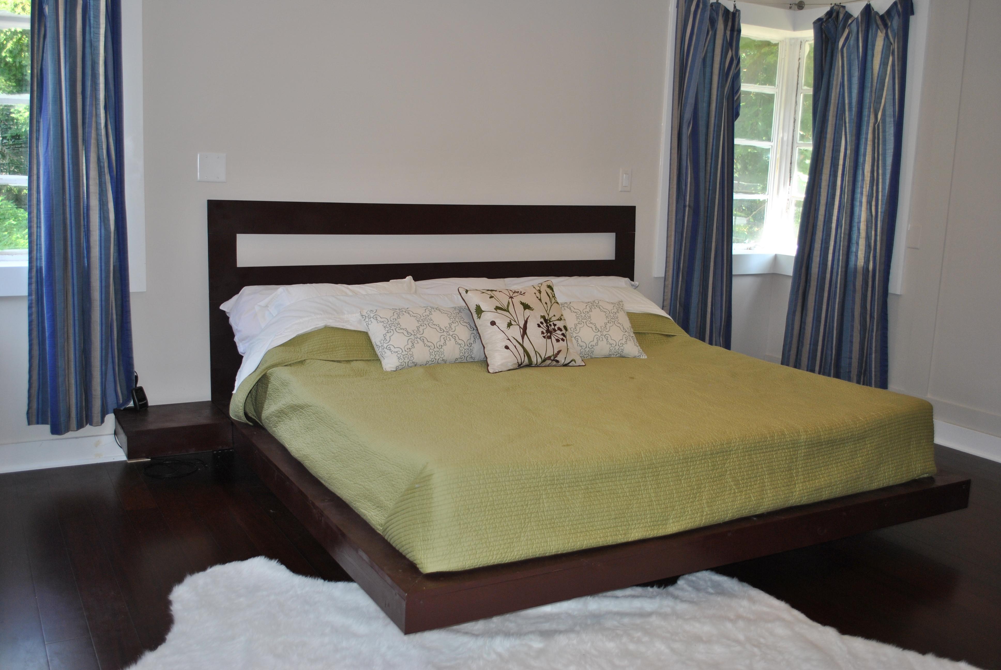Best ideas about DIY Platform Bed . Save or Pin $25 Floating King Platform Bed – Dave and Kelly Davis Now.