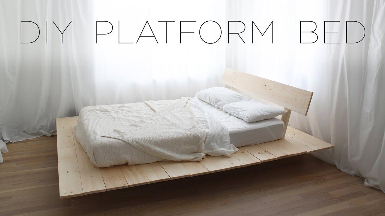 Best ideas about DIY Platform Bed . Save or Pin DIY Platform Bed Now.