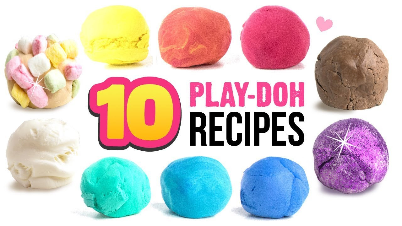 Best ideas about DIY Play Doh . Save or Pin 10 EASY Play Doh Recipes DIY 5 Minute Soap Clay Edible Now.