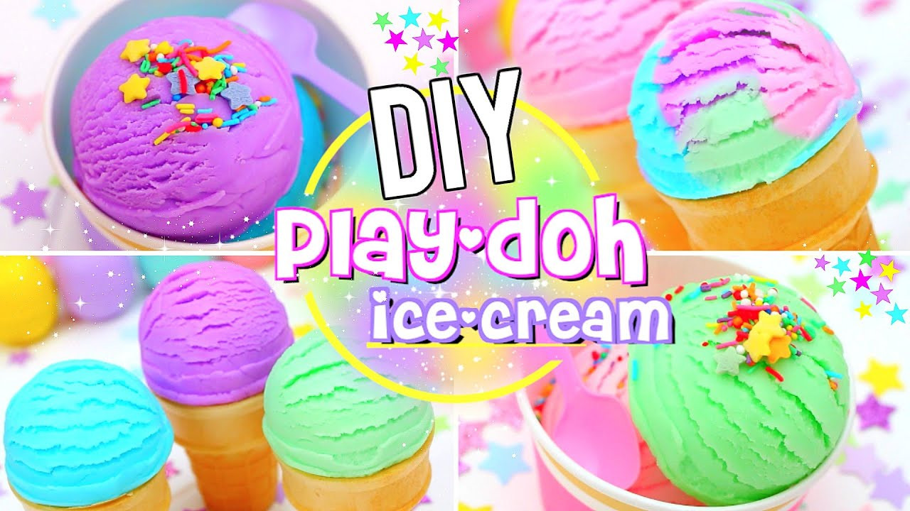 Best ideas about DIY Play Doh . Save or Pin DIY Edible PLAY DOUGH ICE CREAM Now.