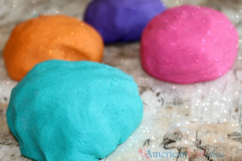 Best ideas about DIY Play Doh . Save or Pin DIY Glitter Play Doh Craft • American Girl Ideas Now.