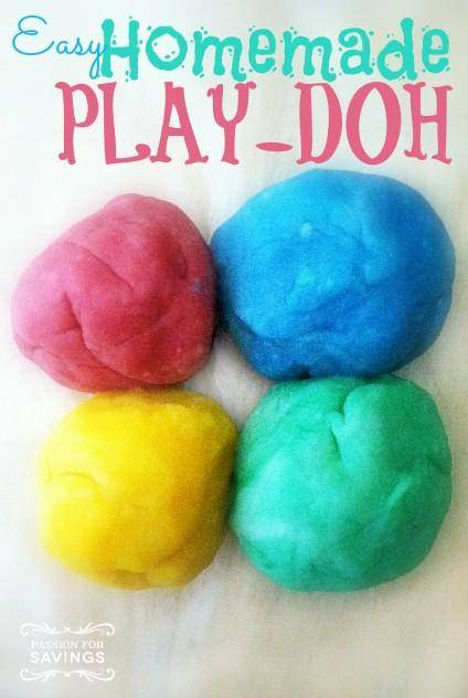 Best ideas about DIY Play Doh . Save or Pin Easy Homemade Play Doh Now.