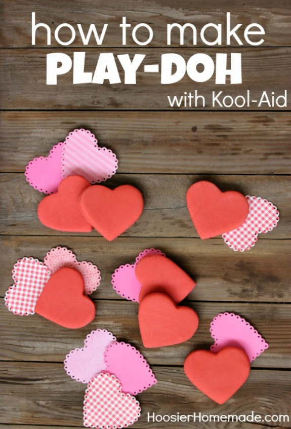 Best ideas about DIY Play Doh . Save or Pin How to make Kool Aid Play Doh Hoosier Homemade Now.