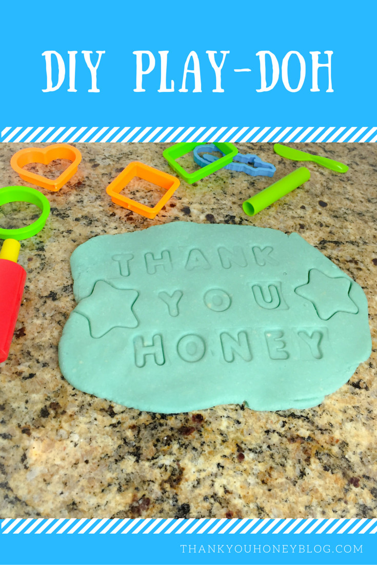 Best ideas about DIY Play Doh . Save or Pin DIY Play Doh Thank You Honey Now.