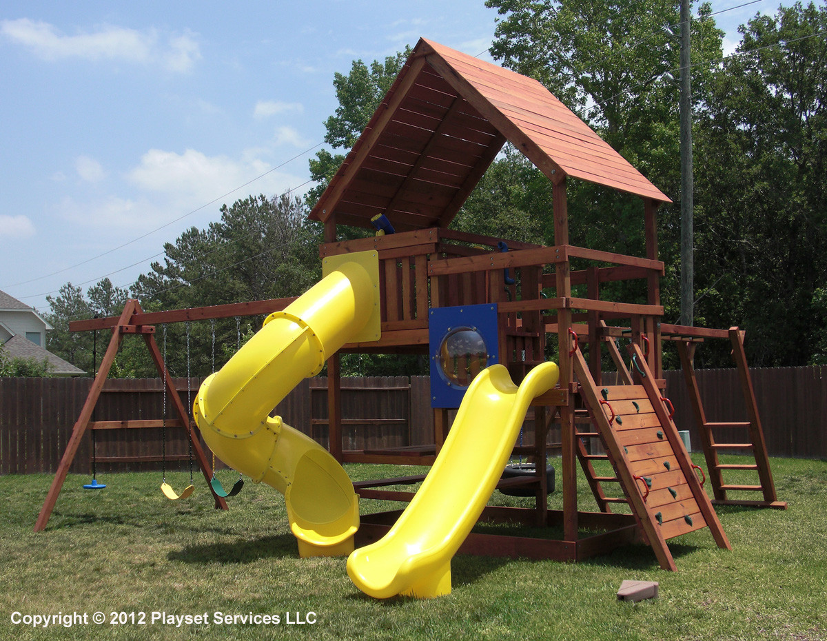 Best ideas about DIY Playset Kit . Save or Pin Gemini Playset DIY Wood Fort and Swingset Plans Now.