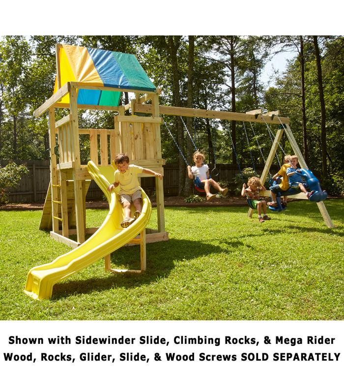 Best ideas about DIY Playset Kit . Save or Pin Wrangler Play Set Hardware Kit for DIY fun by Swing n Slide Now.