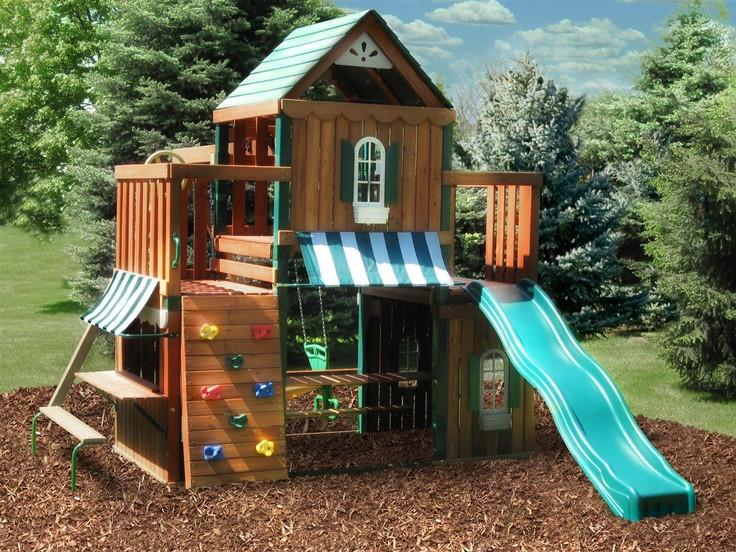 Best ideas about DIY Playset Kit . Save or Pin Swing n Slide Juneau Wood plete Play Set Now.
