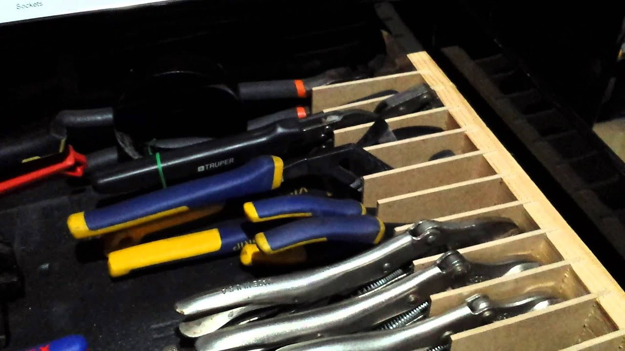 Best ideas about DIY Plier Organizer . Save or Pin DIY Plier Organization for Cabinet Drawer Now.