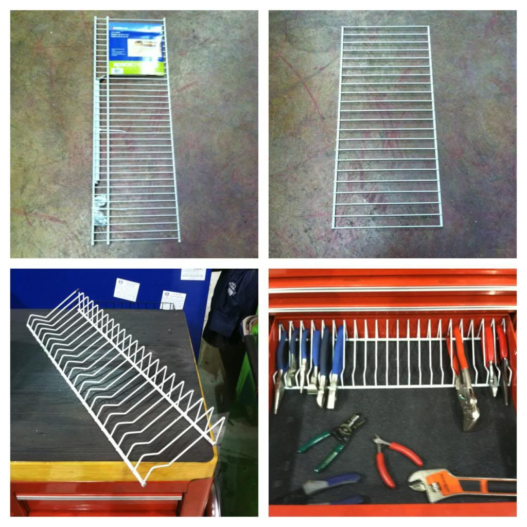 Best ideas about DIY Plier Organizer . Save or Pin Build a simple inexpensive customizable aluminum Now.
